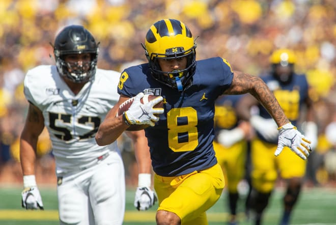 Michigan Wolverines football WR Ronnie Bell