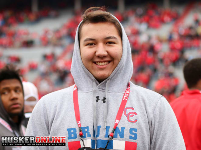 2019 offensive tackle Michael Lynn gives the Huskers another commitment at a position of great need.