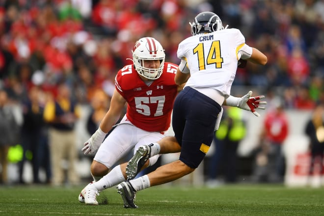 Senior Jack Sanborn is the next in a long line of standout Wisconsin linebackers.