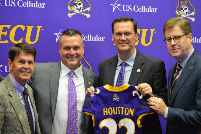 Dave Hart, Mike Houston, Jon Gilbert and Cecil Staton have gone a long way toward rebuilding ECU football.