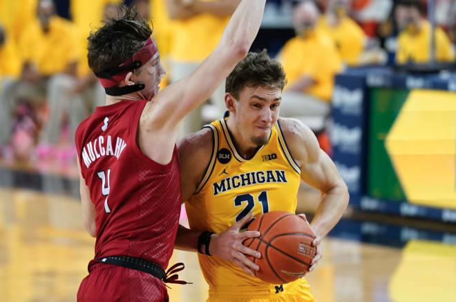 Michigan Wolverines basketball G Franz Wagner