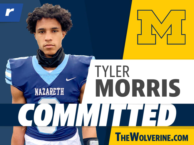 Tyler Morris committed to Michigan on Tuesday