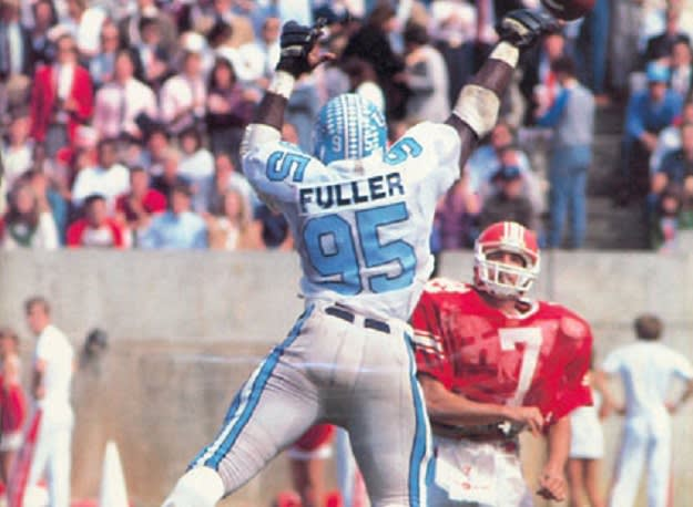 The No. 3 Tar Heels walloped NC State on the road in 1983.