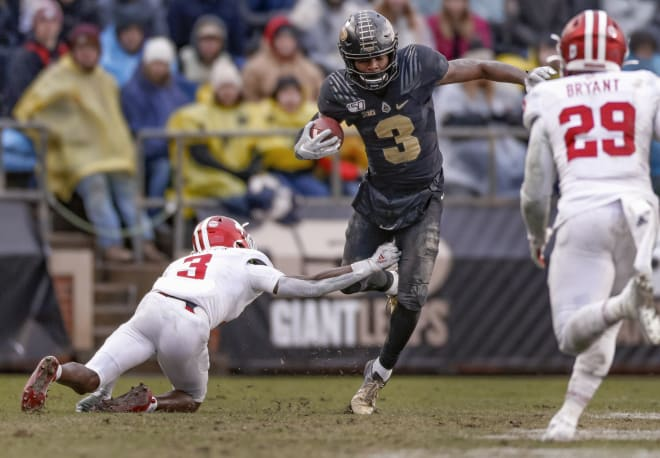 Purdue's David Bell returns as one of the top offensive playmakers in the Big Ten this season at wide receiver.