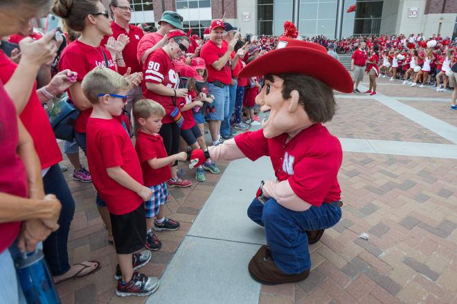 Nebraska has 1,700 children currently registered as members of the JV Husker Club.