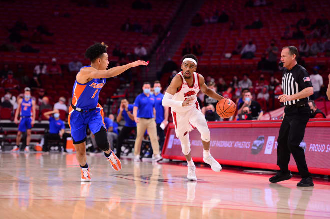 Arkansas is 17-5 overall and 9-4 in SEC play so far this season.