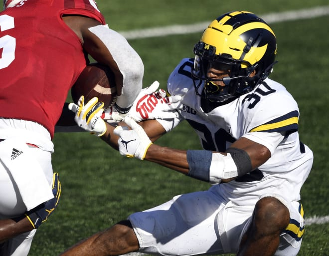 Michigan Wolverines football safety Daxton Hill is the team's fourth-leading tackler with 28 stops on the season.
