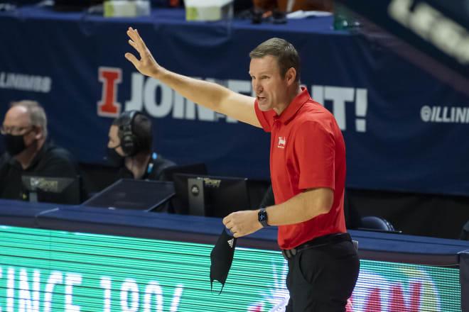 Nebraska head coach Fred Hoiberg.