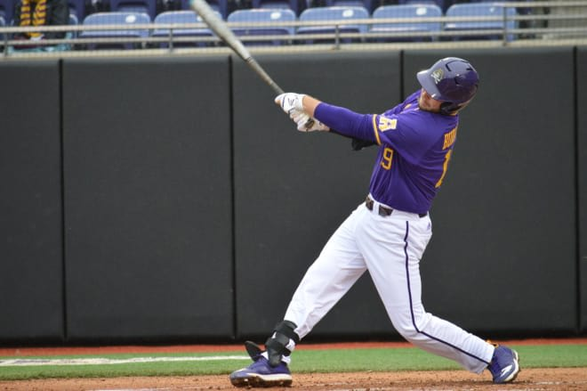 Alec Burleson and ECU clinched the AAC regular season title with a 6-1 road victory at Wichita State.