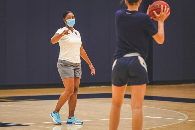 Notre Dame began practice under first-year head coach Niele Ivey on Oct. 14.