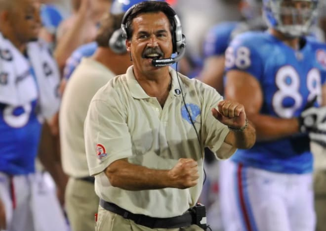 Jeff Fisher led the Tennessee Titans to their greatest successes.