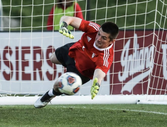 IU won 3-1 in the penalty shootout highlighted by Roman Celentano's three saves. (IU Athletics)
