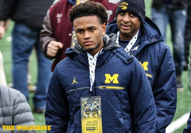 Dacula (Ga.) High four-star cornerback Jalen Perry was committed to Georgia before pledging to U-M.