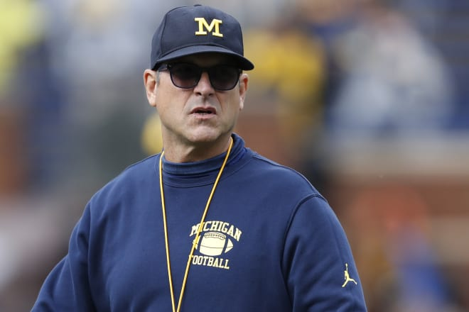 Michigan Wolverines football coach Jim Harbaugh is ready to get back to normal football this fall