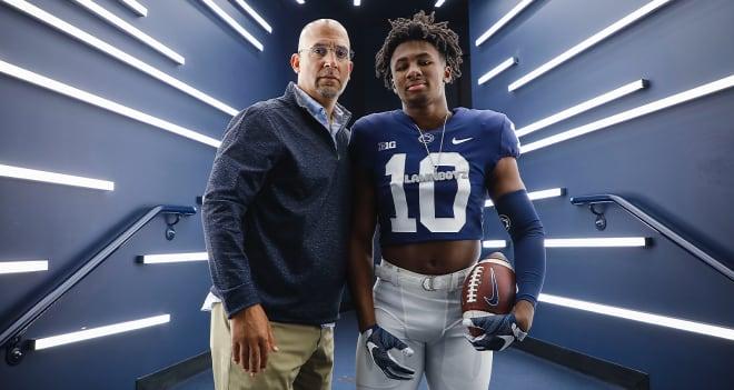 Penn State football is recruiting four-star running back Nick Singleton