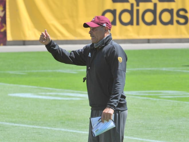 ASU's head coach wants to make opponent's offenses one-dimensional, while trying to strike balance with his group