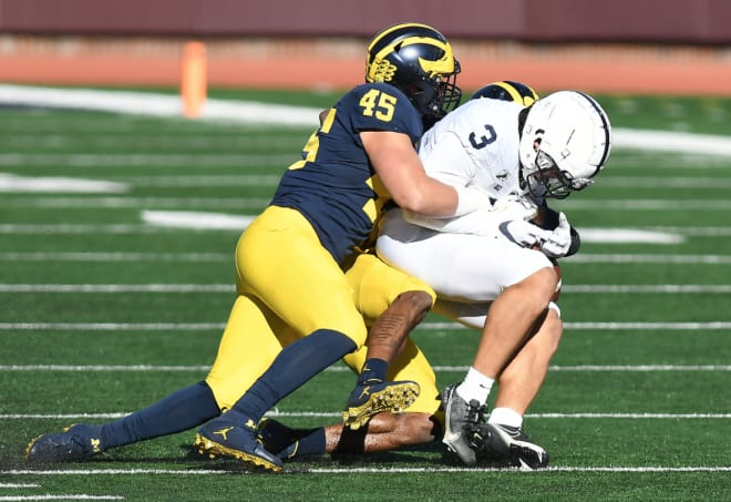 Former Michigan Wolverines linebacker Adam Shibley started one game in his career.
