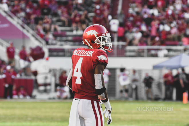 Jarques McClellion is one of several Razorbacks who have entered the transfer portal this offseason.
