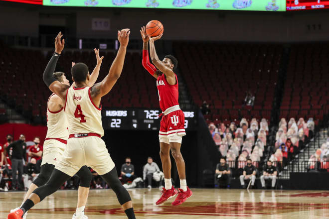 IU escaped with a win over Nebraska on Sunday, picking up its third Big Ten win. (IU Athletics)
