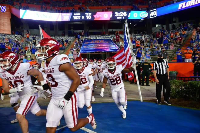 Update Espn Football Power Index Fpi Projects Arkansas Razorbacks Remaining 3 Games In 2020