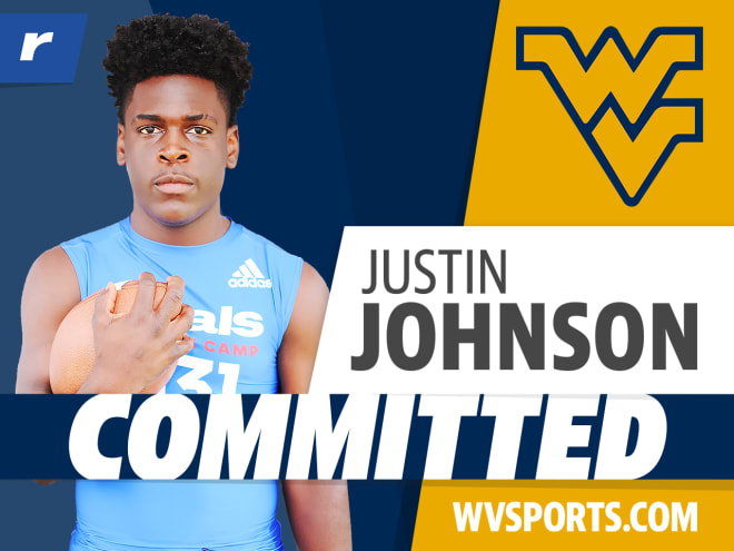 Rivals250 RB Justin Johnson committed to West Virginia Sunday
