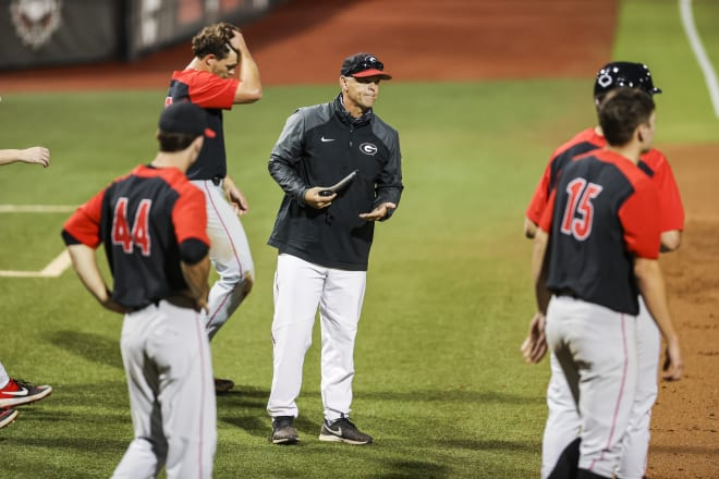 Scott Stricklin will miss this week's series with Tennessee after testing positive for Covid.