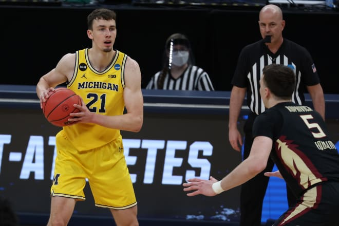 Former Michigan Wolverines basketball wing Franz Wagner averaged 12.5 points per game as a sophomore in 2021-22.
