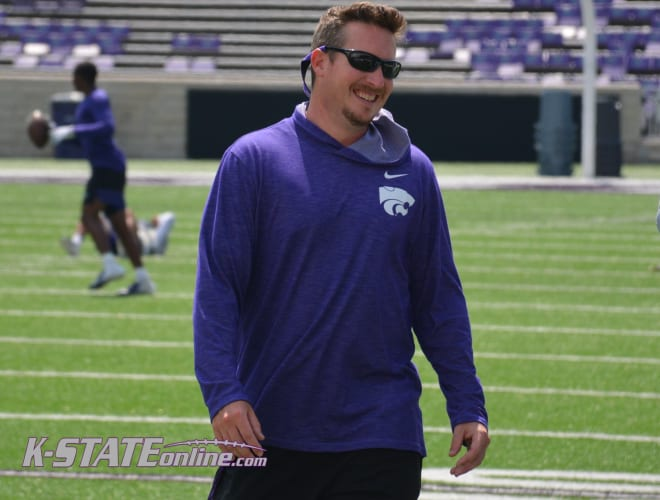 Kansas State Director of Recruiting Taylor Braet