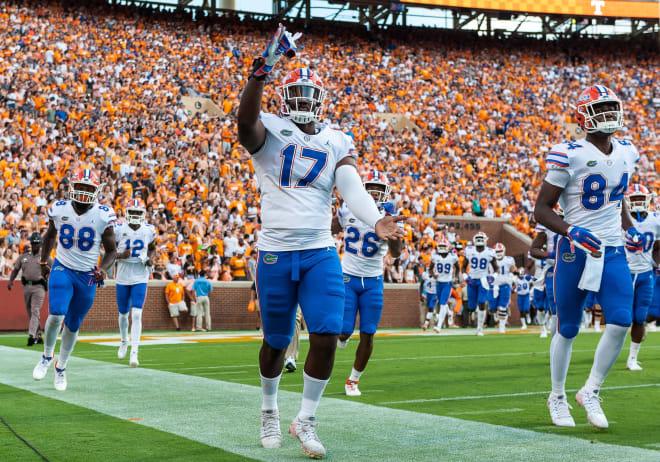 Florida defensive end Zachary Carter.