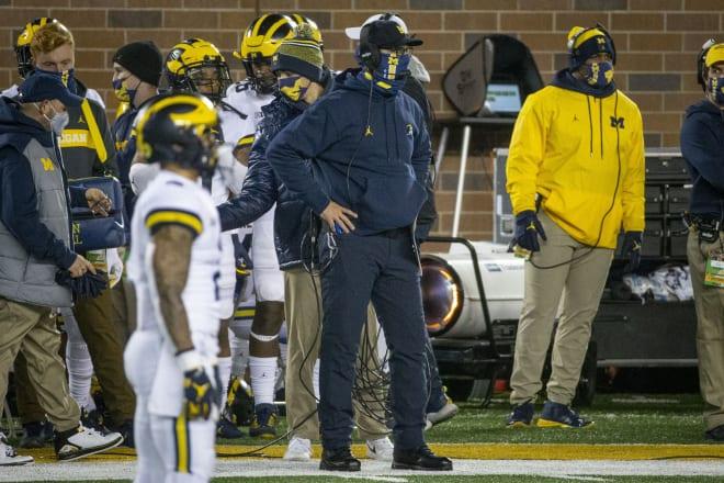Michigan Wolverines head football coach Jim Harbaugh is 3-2 against Michigan State as U-M's head man.