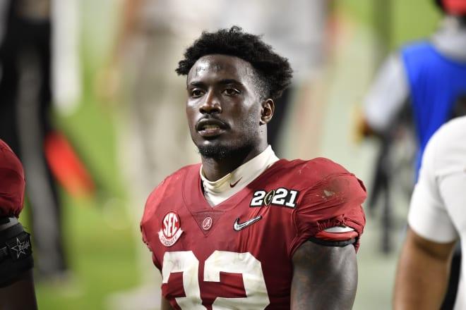 Alabama Crimson Tide linebacker Dylan Moses. Photo   Getty Images