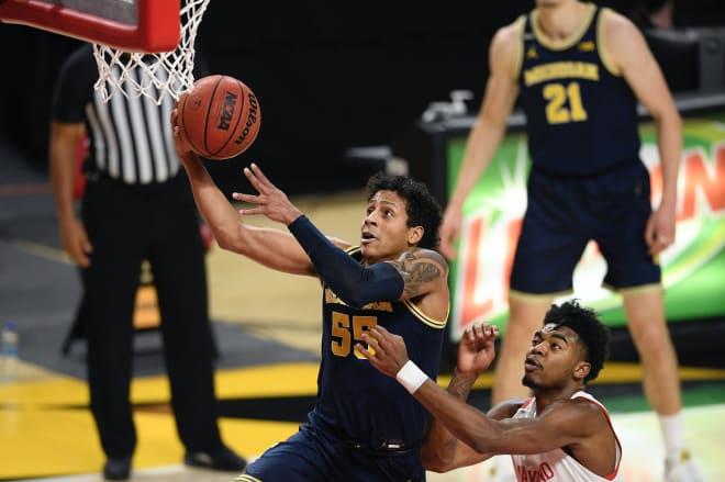 Michigan Wolverines basketball G Eli Brooks