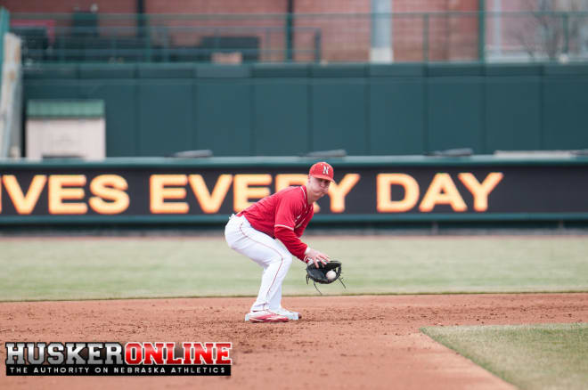 Web gems by Jake Schleppenbach helped the Huskers overcome a season-high in errors in Wednesday's 3-1 win.