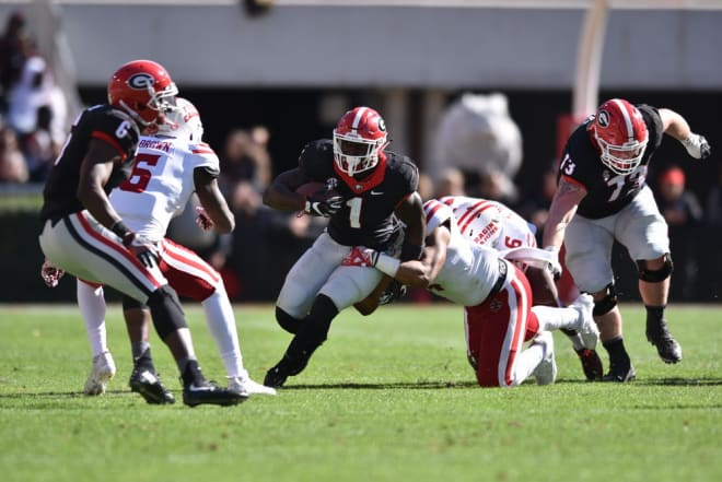 Finding ways to get playmakers like Sony Michel the ball will be a big part of spring practice.