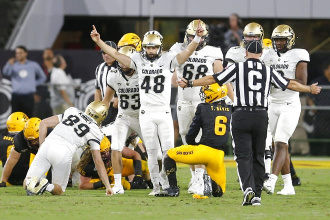 Colorado is considered a beatable team on ASU's schedule, one the Sun Devils last won against in 2017 (AP Photo/Rick Scuteri)