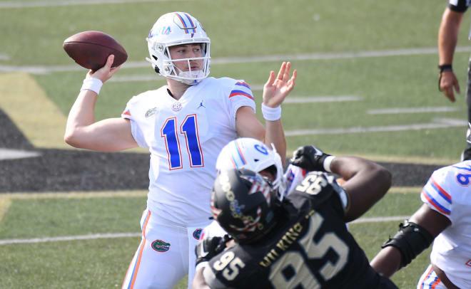Florida quarterback Kyle Trask.