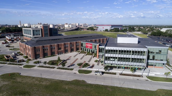 Nebraska's Innovation Campus was once the home of the Nebraska State Fair. It moved to Grand Island in 2010.