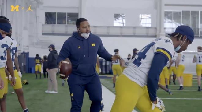 Michigan Wolverines football hired Maurice Linguist in January to be co-defensive coordinator and mentor the cornerbacks.