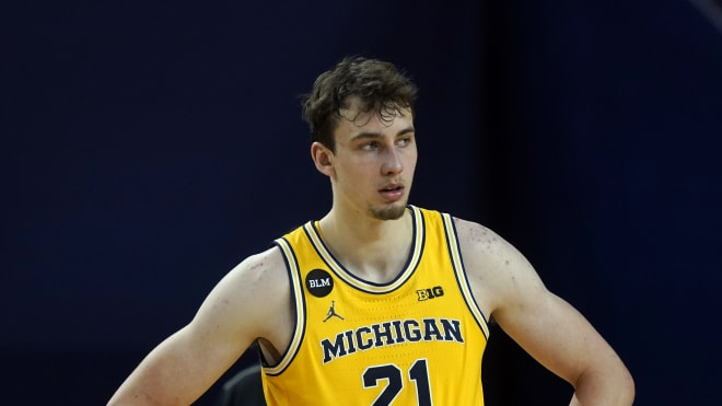 Michigan Wolverines basketball sophomore Franz Wagner made the most of his time in Ann Arbor