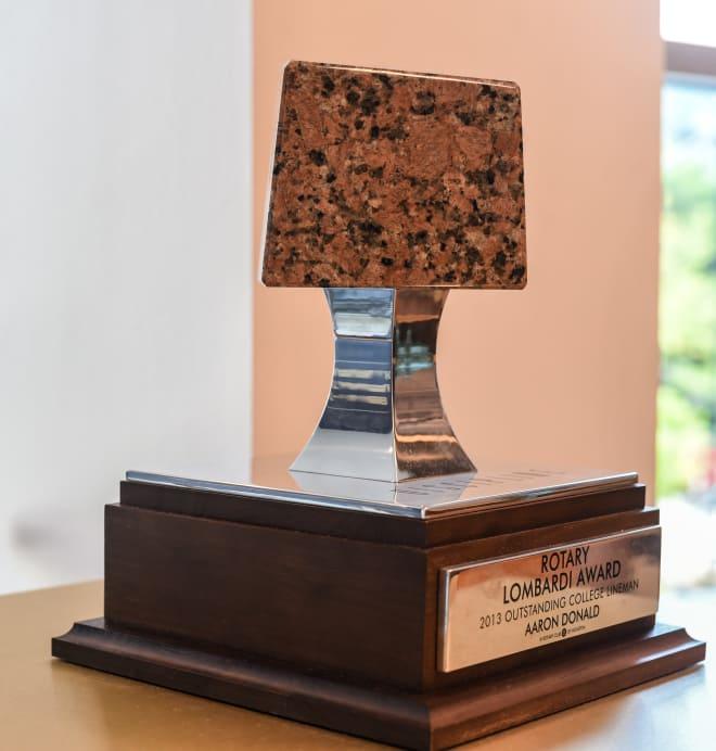 Aaron Donald's Lombardi Award