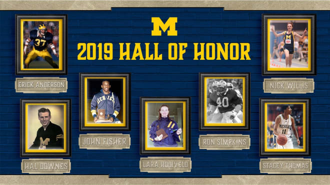 Seven different athletes were voted into U-M's prestigious Hall of Honor Friday.