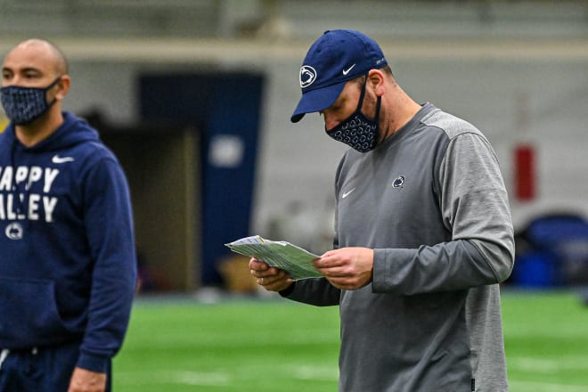 Penn State Nittany Lions football offensive coordinator Mike Yurcich.