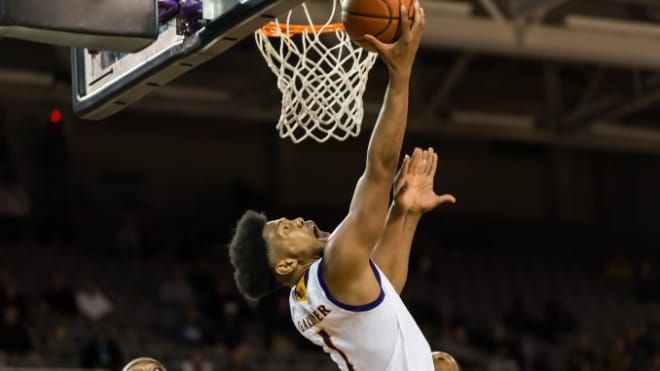 Jayden Gardner scored a personal record 35 points and 20 rebounds in ECU's 76-65 loss to UCF. (ECU Photo)