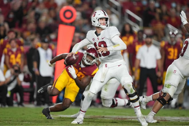 Tanner McKee picked up Pac-12 Freshman of the Week honors in his first career start.