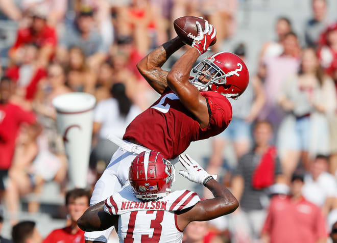 Alabama defensive back Patrick Surtain II reported back to campus Thursday for voluntary workouts. Photo | Getty Images