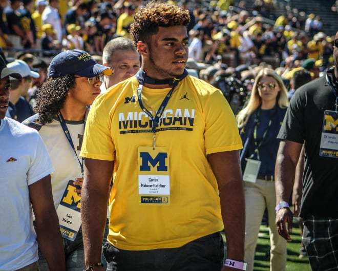Corey Malone-Hatcher did his part to recruit several in the 2017 class following his commitment.