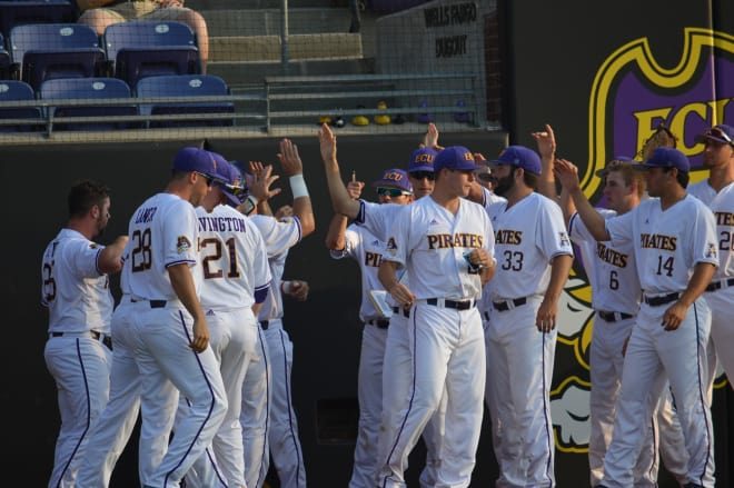 East Carolina got their bats going Friday night with a game one conference victory over Tulane.