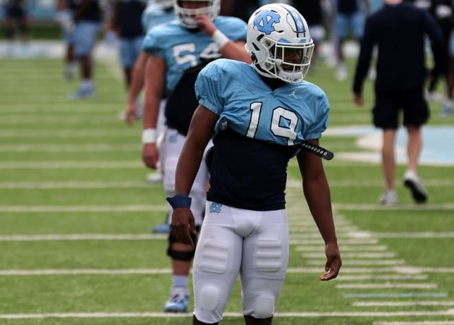 Tennessee transfer Ty Chandler was brought to UNC for many reasons, including his experience.