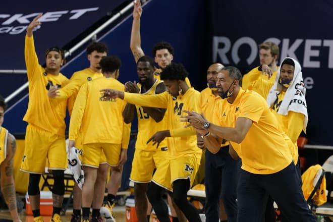 Michigan Wolverines basketball head coach Juwan Howard and his club are the 2021 regular-season Big Ten champions.
