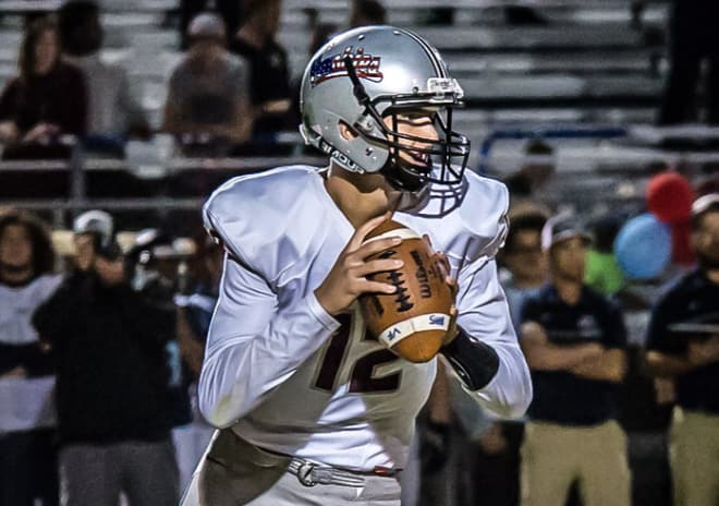 Three-star pro-style quarterback Tyler Shough is now firmly on Michigan's target board.